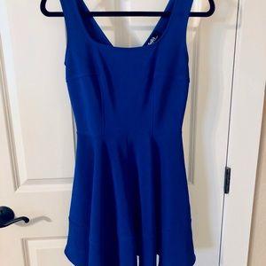 Lulus Blue Dress Size Medium